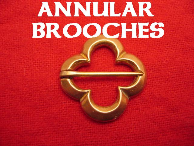 Annular Brooches